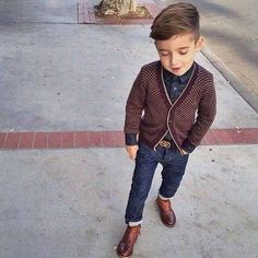 Hipster Baby Names for Boys-- mini Chuck Bass