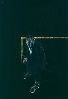 Francis Bacon, Self Portrait, 1956 on ArtStack #francis-bacon #art