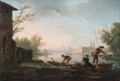 Claude Joseph Vernet Art | :Claude-Joseph Vernet - The four times of day- Morning - Google Art ...
