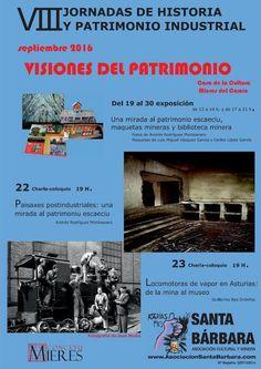 """Patrimonio Industrial Arquitectónico: Conferencia """"Locomotoras de vapor en…"""