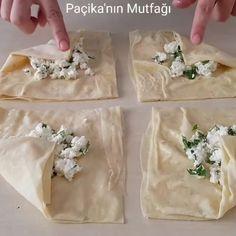 """2,915 Beğenme, 19 Yorum - Instagram'da Eda'nın Önerisi❤️ (@edaninonerisi): """"Aradığınız puf puf kabaran börekler işte burda @pacikanin_mutfagi PUF BÖREK Sos için; 2 yumurta 1…"""" Turkish Recipes, Ethnic Recipes, Turkish Kitchen, Mac And Cheese Homemade, Turkish Delight, Empanadas, Bread Baking, Feta, Camembert Cheese"""
