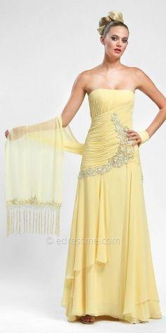 Sue Wong Layers of chiffon evening dresses