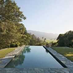 It's almost summer! #tbt to this serene pool in Napa Valley, originally published in our November 2011 issue. #Padgram