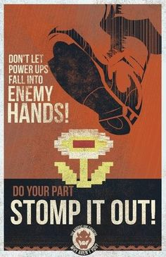 Do your part, stomp on it!