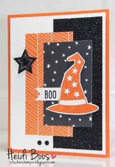 Holiday Catalog Countdown - Halloween! - Halloween DSP called Happy Haunting - Howl-o-ween Treat stamp set