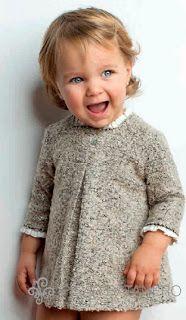 I would make this a little longer Little Girl Fashion, Little Girl Dresses, Toddler Fashion, Kids Fashion, Girls Dresses, Fashion Outfits, Kids Winter Fashion, Little Fashionista, Beautiful Children