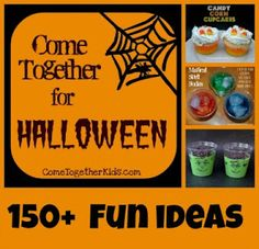 Halloween recipes, crafts, projects and ideas
