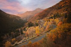 While you might first think of this eastern Oregon town as a winter getaway, the most spectacular time to visit is when its mountainous landscape is covered in fall foliage. For more information, visit Vale.or.us.   - CountryLiving.com