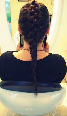 Warkocz. #hairstyle #fryzury