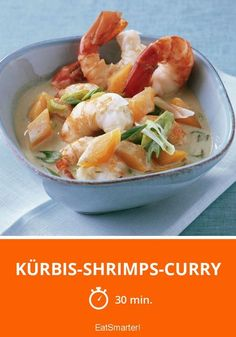 Kürbis-Shrimps-Curry - So low-carb und so lecker!