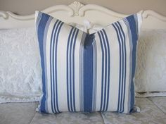 Pillow Decorative Throw Pillow Cover by CottageHomeCouture on Etsy, $28.00