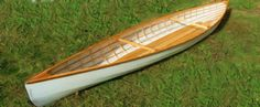 Wood Strip Canoes