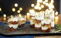 Pikkujoulu-trifle