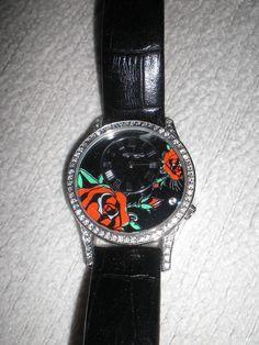 Armbanduhr Ed Hardy AN-BL 1468 «Diamond collection» Christian Audigier