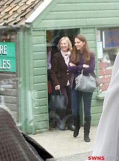 The Duchess of Cambridge Kate Middleton spotted out shopping in Fakenham, Norfolk near her new home
