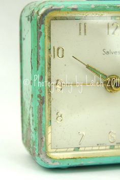 By Lâleh, A Shabby Clock Indeed #Flickr