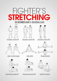 Fighter's Stretching