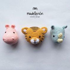 My Jungle 2 amigurumi by Madelenon