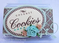Inspired By Stamping Yummy Food Labels