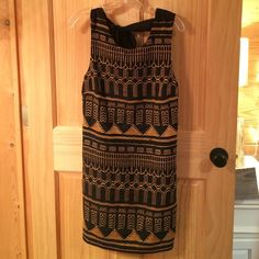 Urban Outfitters dress, Size L Fabulous dress from Sparkle and Fade. Never worn, new with tags. Polyester front/cotton back. Fits true to size. Urban Outfitters Dresses