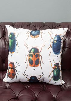 Love it! Beetle pillow at ModCloth