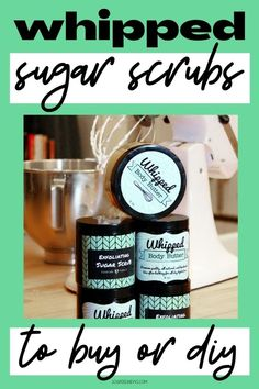Buy or DIY these best homemade whipped sugar scrub recipes for your natural skin care routine. These whipped exfoliating sugar scrub recipes are a great way to exfoliate, moisturize and pamper skin for self care. Get glowing skin as part of your DIY skin care routine with these DIY whipped sugar scrubs. Buy or make these homemade body scrubs to gift as DIY holiday gifts for Christmas goodies or as winter gift ideas for her. An in shower bath time treat for natural DIY beauty and skin care. Homemade Lip Balm, Homemade Soap Recipes, Diy Holiday Gifts, Diy Gifts, Christmas Goodies, Diy Christmas, Beauty Care, Diy Beauty, Diy Natural Beauty Recipes