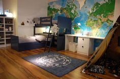 I need to get a map like this for my son's room.