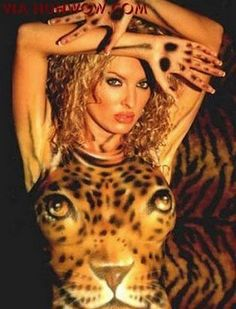It is Tiger Body Painting 2012