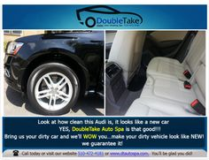 """Is your vehicle in need of a professional cleaning? If so, then you must consider our """"the works auto detailing service"""". This service comes with an interior steam clean, 100% hand wash and Clay Bar treatment.  #dtautospa #lexus #mercedes #benz #porsche #bmw #jaguar #luxurycars #cars #automobile #vehicle #carwash #family #mom #dad #fremontca #fremontcalifornia #smallbusinesses #smallbusiness #smallbiz #local #professionals #instadaily #goviral #entrepreneurs #marketing #businesses"""