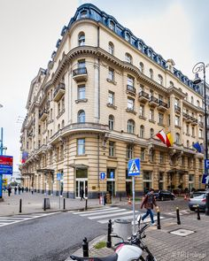 Polonia Palace hotel viewed from the corner of Jerozolimskie Avenue and Poznanska street, downtown Warsaw, Poland