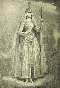 Saint Shushanik (Born Vardeni Mamikonian c. 440-475)  Was an early medieval Christian martyr of Armenian origin who was murdered by her husband Varsken in the town of Tsurtavi, Georgia. Since she died defending her right to profess Christianity, she is regarded as a martyr. Her martyrdom is described in her confessor Jacob's hagiographic work...