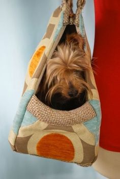 Open Tote Pet Purse Carrier Designer Handbag for Dog Hand made  ONE OF A KIND #MARISEE
