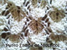 Punto Encaje de Mosaicos - Clase 60 Soy Woolly
