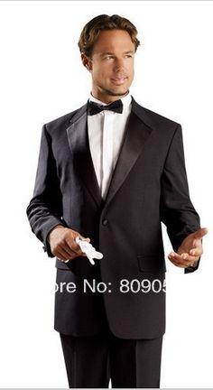 Купить товарM76 мода новый черный одна кнопка однобортный нотч жених смокинг формальный выпускного вечера свадьба деловой костюм в категории Костюмы для женихана AliExpress.             Добро пожаловать в мой магазин                  Новые мужские полный костюм жениха дизайнера/ Мужчин свадебн