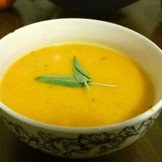 Savory Roasted Butternut Squash Soup