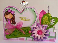 Garabatta-tarjeta-SanValentin5-DelfinaMoretta Paper Envelopes, You're Awesome, Flower Crafts, Scrapbook Cards, Picsart, Birthday Cards, Diy And Crafts, Banner, Greeting Cards