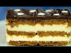 Tort Milky Way uriaș! În timp record pregătești un desert de care nu te . Milky Way Cake, Food Cakes, Biscotti, Tiramisu, Cake Recipes, Cooking Recipes, Chocolate, Sweet, Ethnic Recipes