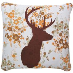 cushion cover stag trophy head