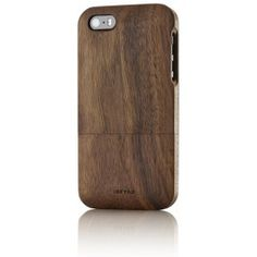 Solid wood case for iPhone 5s: Walnut