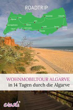 Wohnmobiltour Algarve: in 2-3 Wochen mit dem Wohnmobil durch den Süden von Portugal.