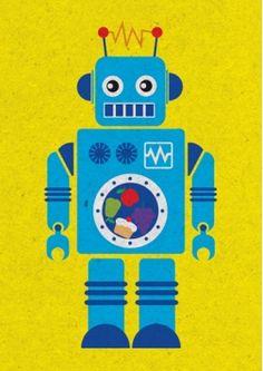 robot decor
