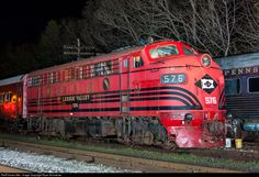 RailPictures.Net Photo: LV 576 Lehigh Valley EMD F7(A) at Tuckahoe, New Jersey by Ryan Schmelzer