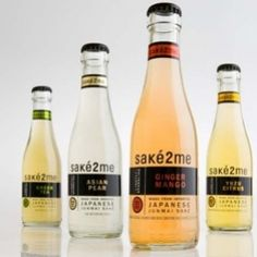 New sparkling fruit-infused junmai sake blend. Don't you know Sake is a rice beer?