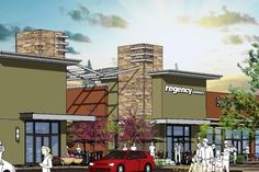 strip centers | ... of a mall being developed by Regency Centers. Regency Centers