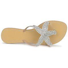 Aspiga STARFISH Silver Sandals