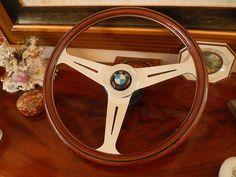 Nardi BMW steering wheel - Wood-Steering-Wheels.com Bmw Vintage, Bmw 325, Steering Wheels, E30, Dashboards, Toys For Boys, Big Boys, Dreams, Ship