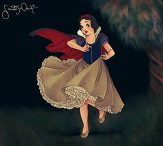 Snow White Painting Fan Art | Fan Art / Digital Art / Painting & Airbrushing / Movies & TV