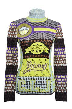 #ChristianLacroix Jeans #pullover #exkusiv #vintage #clothes #designer #fashionblogger #accessories #secondhand #vintage #onlineshop #mymint