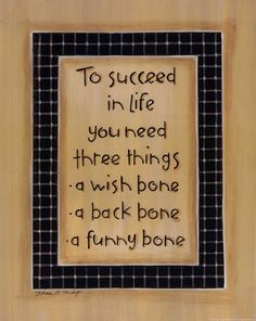 To Three Things wall art poster on Wall Art To Inspire