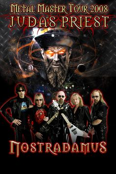 Judas Priest Metal Master Tour 2008  - Saw them, Testament, Motorhead, and the only time I ever got to see Dio - with Heaven and Hell